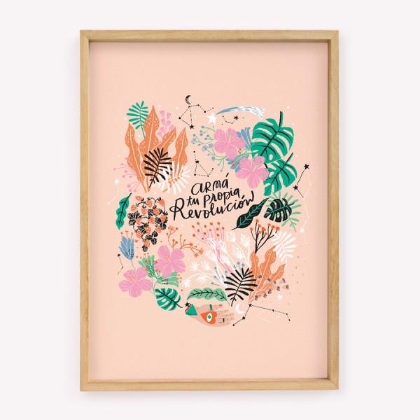 Poster Happimess Revolución