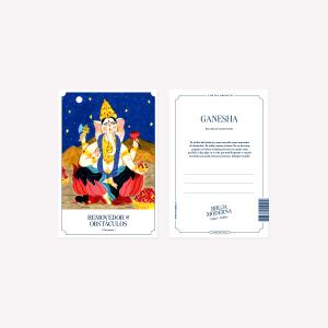 Postal Bruja Moderna Ganesha 10x15 cm