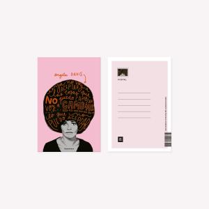 Postal Happimess Angela Davis