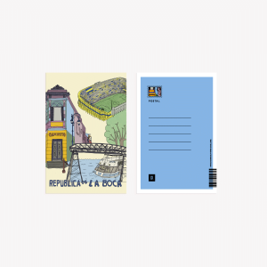 Postal 10x15 cm Buenos Aires La Boca