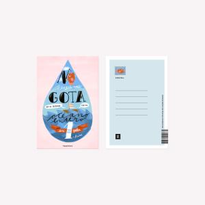 Postal Happimess Una gota