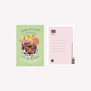 Postal Happimess Tigre Frida