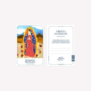 Postal Bruja Moderna Guadalupe 10 x 15 cm