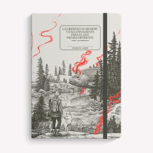 Cuaderno Cosido A5 Punteado Makers Valiente