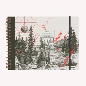 Cuaderno de Dibujo A4 Apaisado Makers Valiente