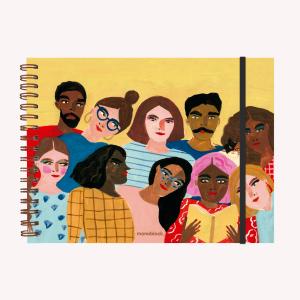 Cuaderno de Dibujo A4 Apaisado María Luque Feriado