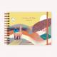 Cuaderno de Dibujo A5 Apaisado De Viaje Norte Argentino