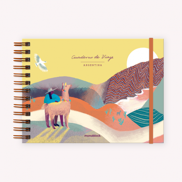 Cuaderno Apaisado Wanderlust Norte Argentino