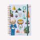 Cuaderno Anillado A5 Rayado Happimess Mi tiempo es Oro