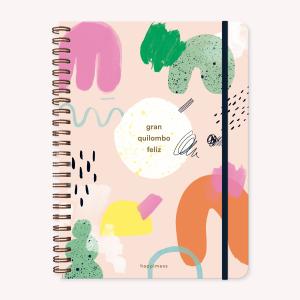 Cuaderno A4 Happimess Quilombo Rayado