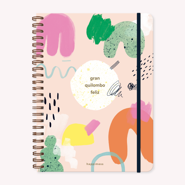 Cuaderno A4 Happimess Quilombo
