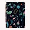 Cuaderno A4 Cuadriculado Happimess Universo