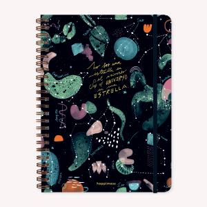 Cuaderno A4 Happimess Universo Rayado