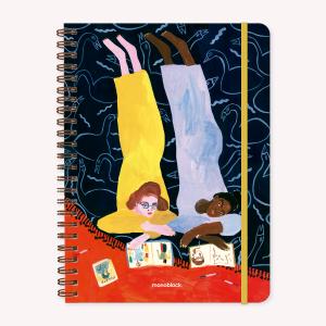 Cuaderno A4 María Luque Foujita Cuadriculado