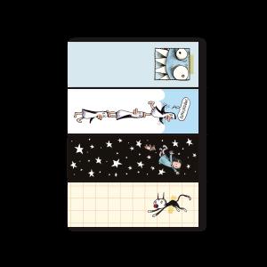 Notas Adhesivas Set x4 - Macanudo