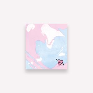 Notas Adhesivas Pepita Sandwich - Marble Yo 6,7 x 7,4 cm