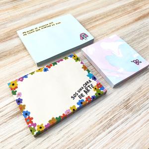 Notas Adhesivas Pepita Sanwich - Marble Yo 6,7 x 7,4 cm