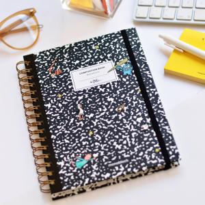 Cuaderno Anillado Punteado Composition Book