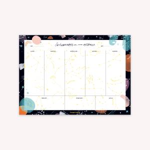 Planner Semanal Happimess Universo