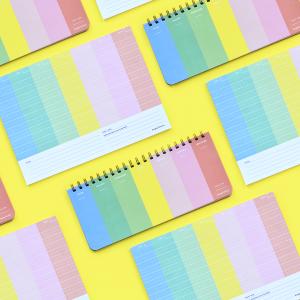 Planner Semanal - Happimess Colorblock