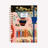 Agenda 2021 Semana a la vista - Club de Lectura Un libro y una flor