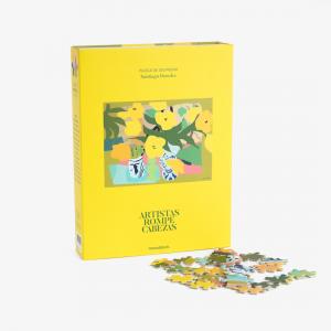 Puzzle Artistas Rompecabezas - Niza por Santiago Paredes