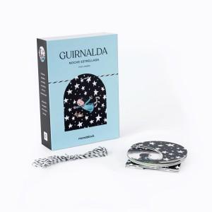 Guirnalda 9 piezas x Liniers - Noche Estrellada