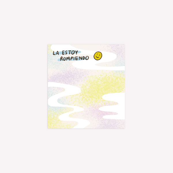 Notas Adhesivas La estoy rompiendo - Pepita Sandwich- 6.7 x 7.4cm