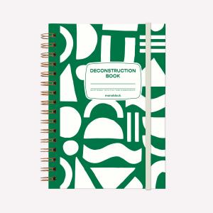 Cuaderno Anillado A5 Punteado Monoblock Deconstruction book