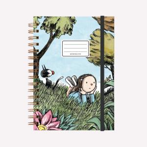 Cuaderno Anillado A5 Liso Macanudo Natflix