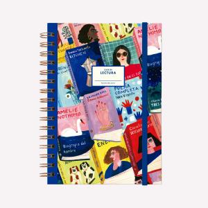 Cuaderno Anillado A5 Punteado Club de Lectura Escritoras