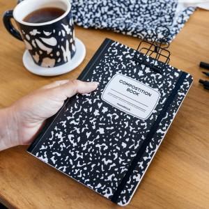 Cuaderno Cosido A5 Punteado Compost
