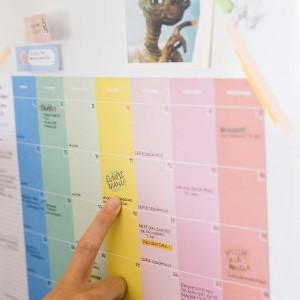 Planner Mensual Block Happimess - Colorblock