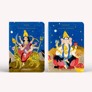 Libretas x2 Bruja Moderna - Durga + Ganesha