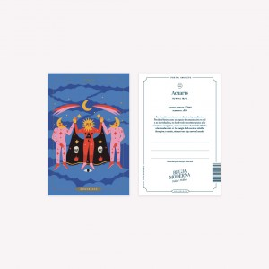 Postal Bruja Moderna - Piscis x Jennifer Dahbura