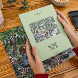 Puzzle 300 Piezas Artistas Rompecabezas x Liniers - Enriqueta en el bosque