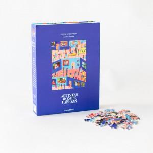 Puzzle 300 Piezas Artistas Rompecabezas x María Luque - Hoy en el museo