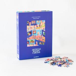 Puzzle Artistas Rompecabezas - Hoy en el museo por María Luque