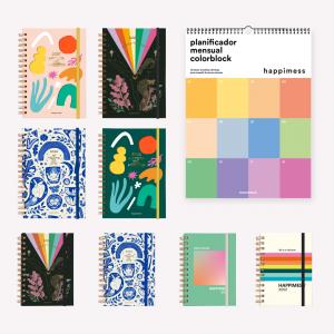 Agendas 2022 - Colección HAPPIMESS