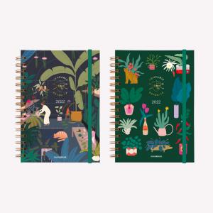 Agendas 2022 - Colección COMPAÑÍA BOTÁNICA