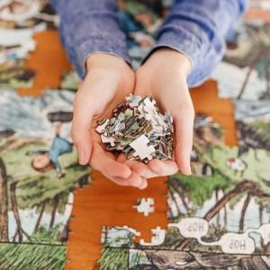 Puzzle 1000 Piezas Artistas Rompecabezas x Liniers - Un Día Inolvidable