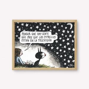 Wall Art Estrellas de tv