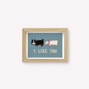 Wall Art I Like You