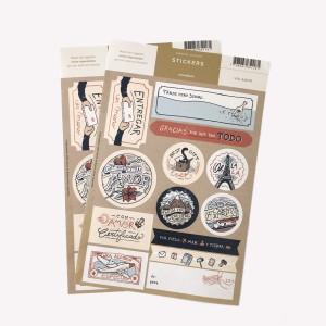Pack x 5 Etiquetas para Regalo VIA AMOR