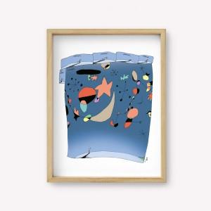 Wall Art Miró