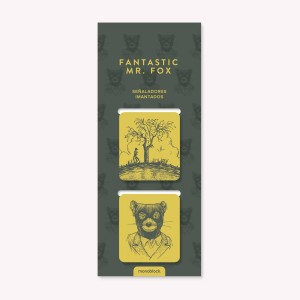 Pack x5 Señaladores Imantados Fantastic Mr Fox