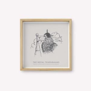 Serigrafía The Royal Tenenbaums