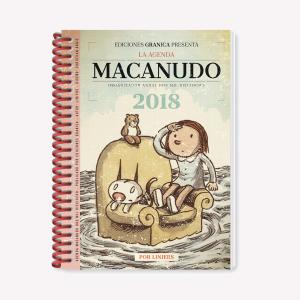 Pack x 5 Macanudo 2018 Agenda Anillada - Enriqueta