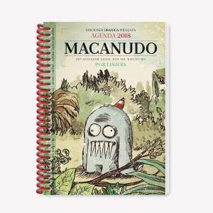 Macanudo 2018 Agenda anillada - Olga