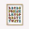 Wall Art Alfabeto